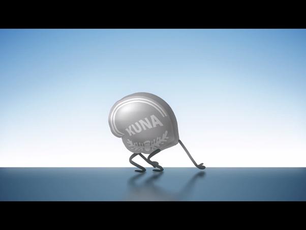 Screenshot iz animiranog filma Vlade RH i HNB-a o uvođenju eura